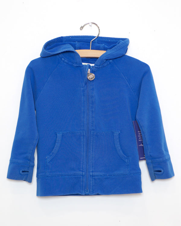 On The Go Hoodie - Royal Blue - Size 2