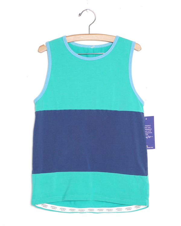 Dock Time Tank - Green - Size 10
