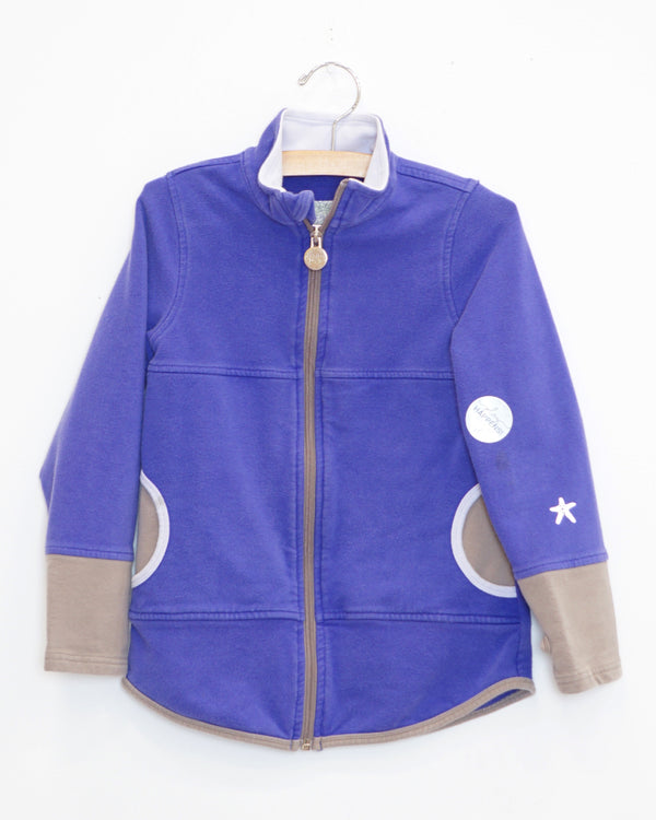 Bubble Zip Up Jacket - Purple - Size 6