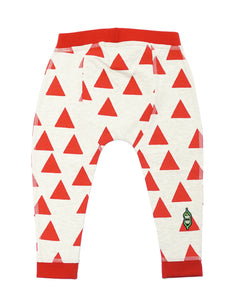 Baby Bean Pant - Rouge Triangle