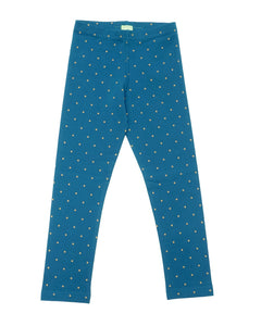 Party Perfect Leggings - Night Sky Gold Dot