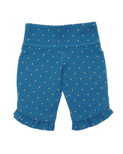 Peekaboo Best Shorts - Night Sky Gold Dot