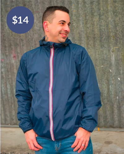 Adult's Break Free Jacket - Navy