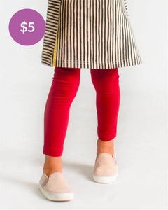 Party Perfect Leggings - Burgundy