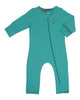 Load image into Gallery viewer, Bean Playsuit - Bright Aqua