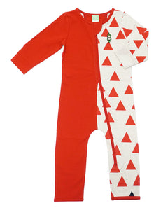 Bean Playsuit - Rouge Triangle