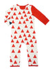 Load image into Gallery viewer, Bean Playsuit - Rouge Triangle