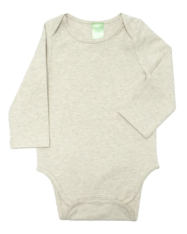 Onesie - Heather Oatmeal