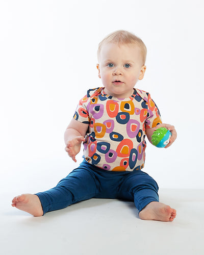 Baby Bean Pants - Navy