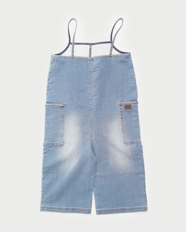 Beachcomber Romper - Light Blue Denim