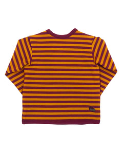 Bean Cross Top - Spice Stripe