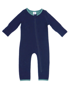 Bean Playsuit - Midnight Blue