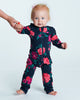 Load image into Gallery viewer, Bean Playsuit - Wild Rose Garden