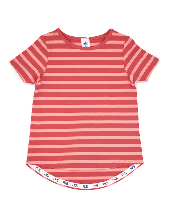 Better Together Tee - Watermelon Punch Stripe
