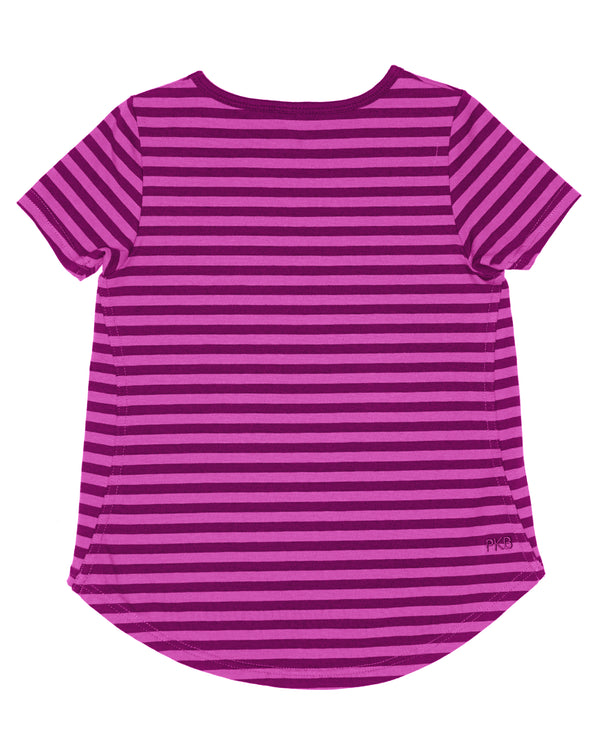 Better Together Tee - Wild Rose Stripe