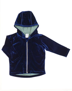 Cuddle Up Jacket - Midnight Blue