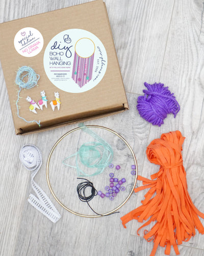 NO DRAMA LLAMA - Special Edition DIY Wall Hanging Kit