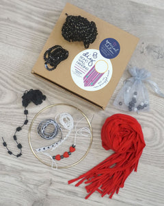 QUEEN OF HEARTS - Special Edition DIY Wall Hanging Kit