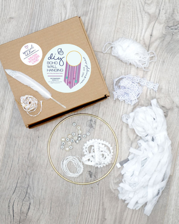 WINTER WONDERLAND - Special Edition DIY Wall Hanging Kit