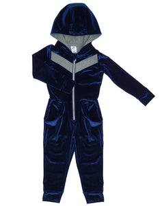 Dress Up Romper - Midnight Blue