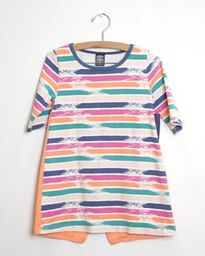 Fun Times Tunic - Brush Print - Size 6