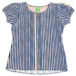 Friendship Tee - Navy Slinky Stripe
