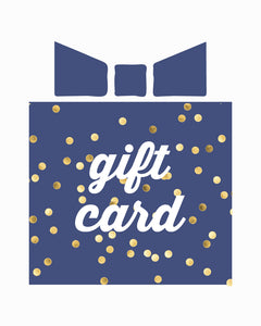 Gift Card - from $25-$100