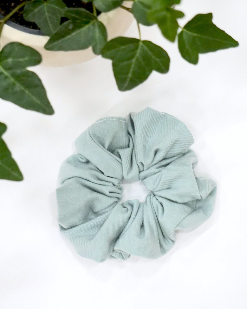 Large Scrunchie - Green Mist