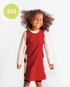 Her Way Dress - Burgundy