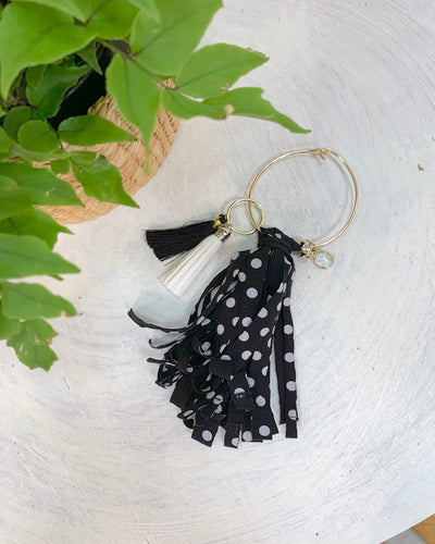 PK RePlay Twirly Tassel Key Chain