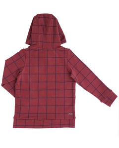 Unisex I Spy Hoodie - Fig Windowpane