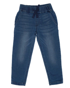 Unisex In The Groove Pants - Blue Denim