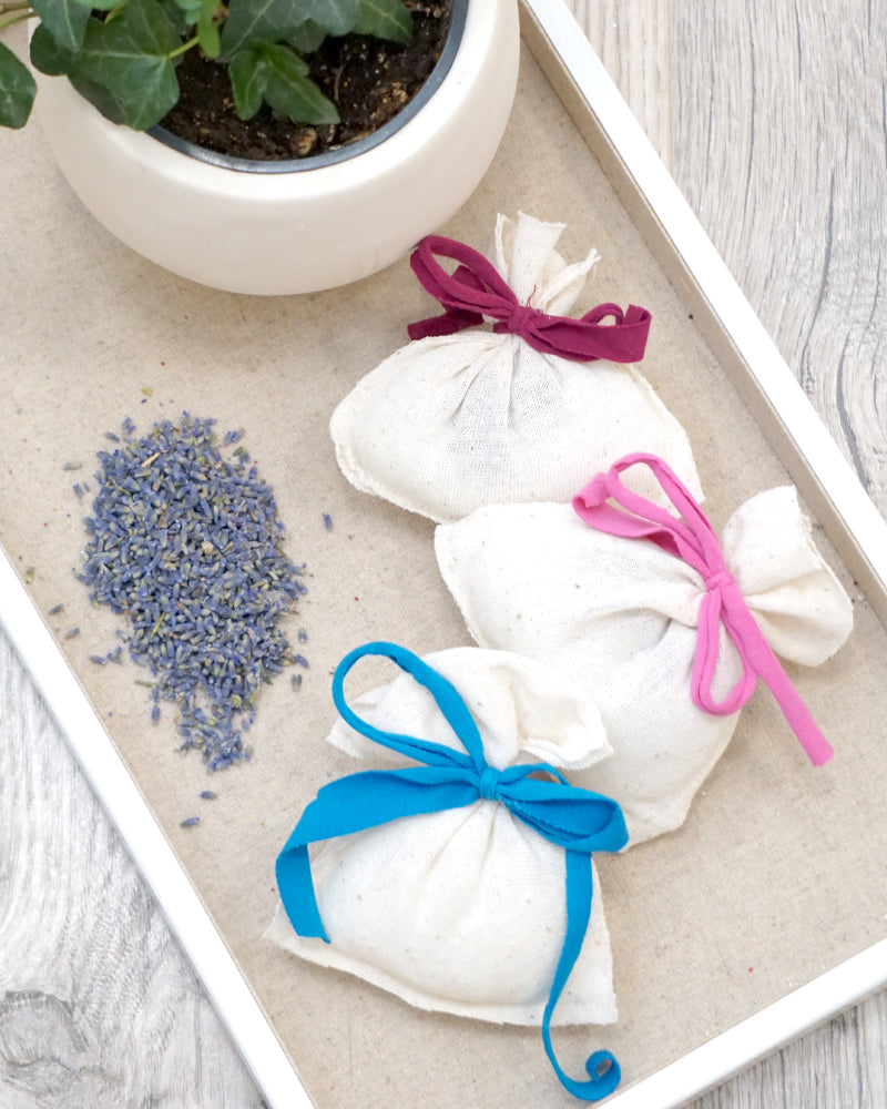 Lavender Sachets - Set of 3