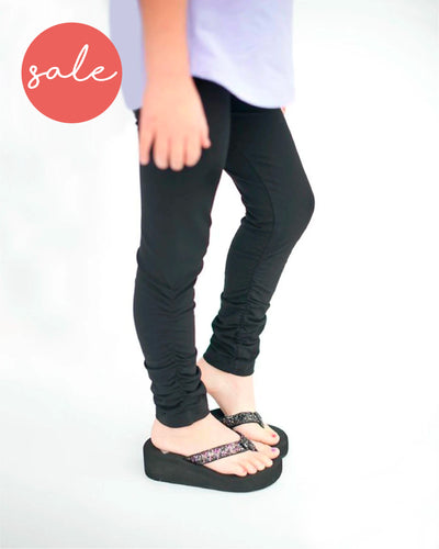 Long Embrace Leggings - Black