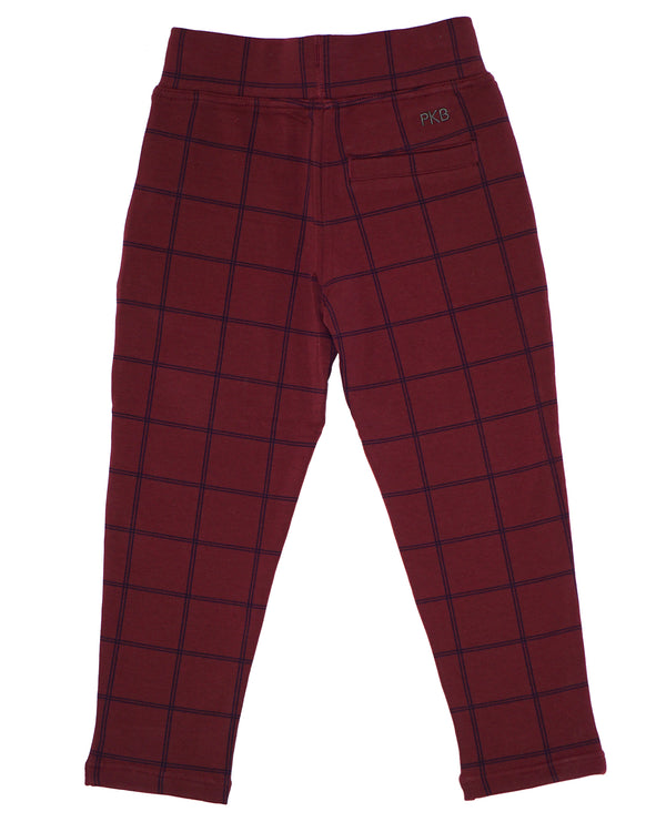 Look'n Fine Pants - Fig Windowpane