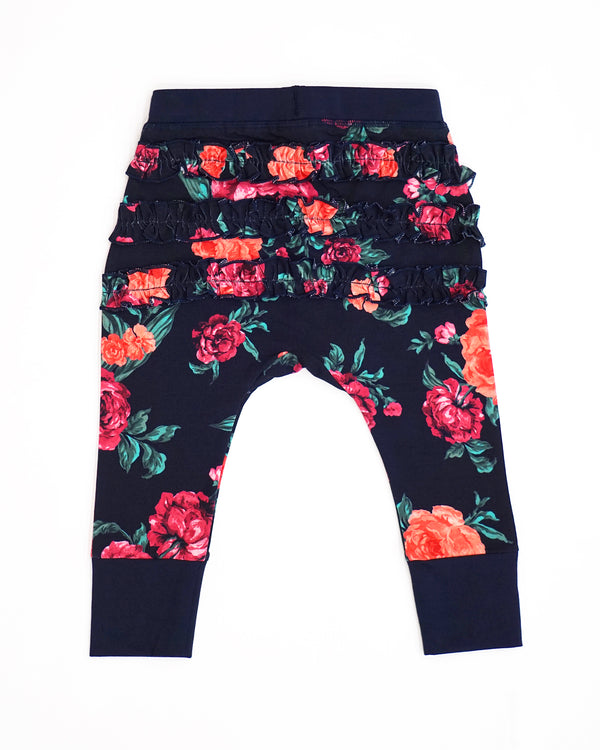 Lots O' Ruffles Pants - Wild Rose Garden
