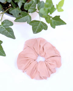Large Scrunchie - Mellow Rose