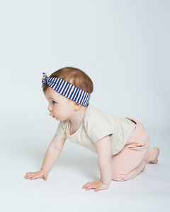 Short Sleeve Onesie - Heather Oatmeal