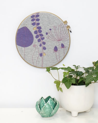 Whimsy Hoop Art
