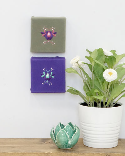 Mini Canvas Art Set