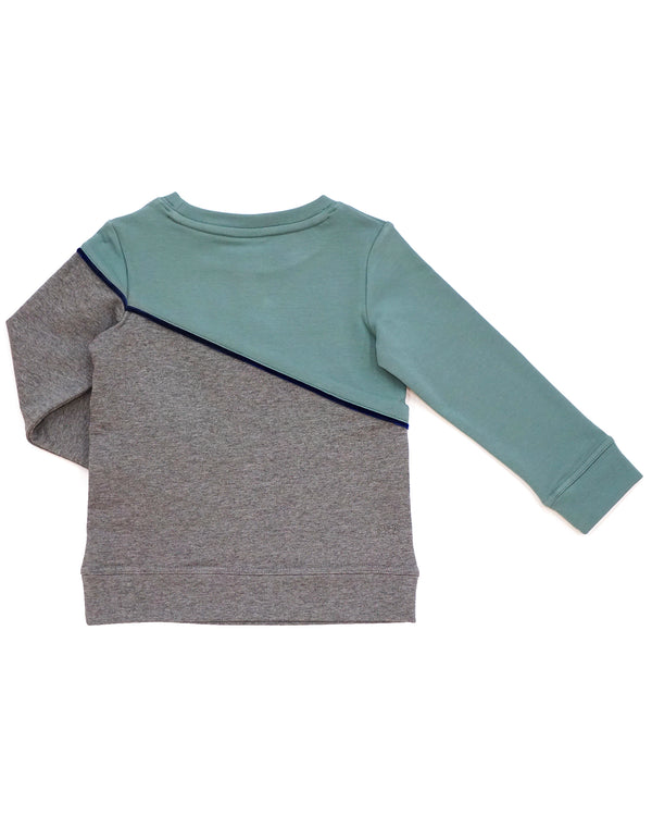 Pave The Way Pullover - Sea Pine