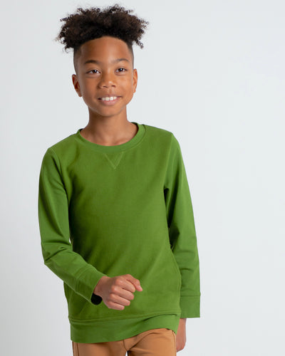 Ready Or Not Pullover - Moss
