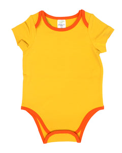 Short Sleeve Onesie - Sunbeam
