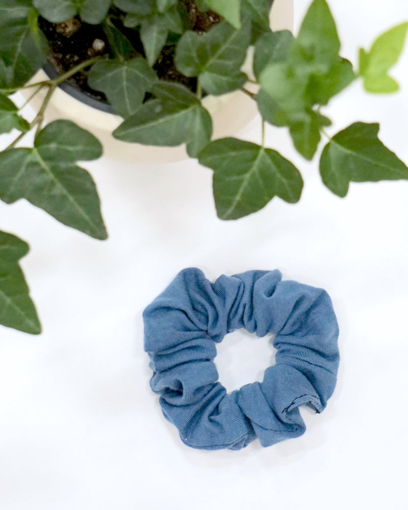 Small Scrunchie - Slate Blue