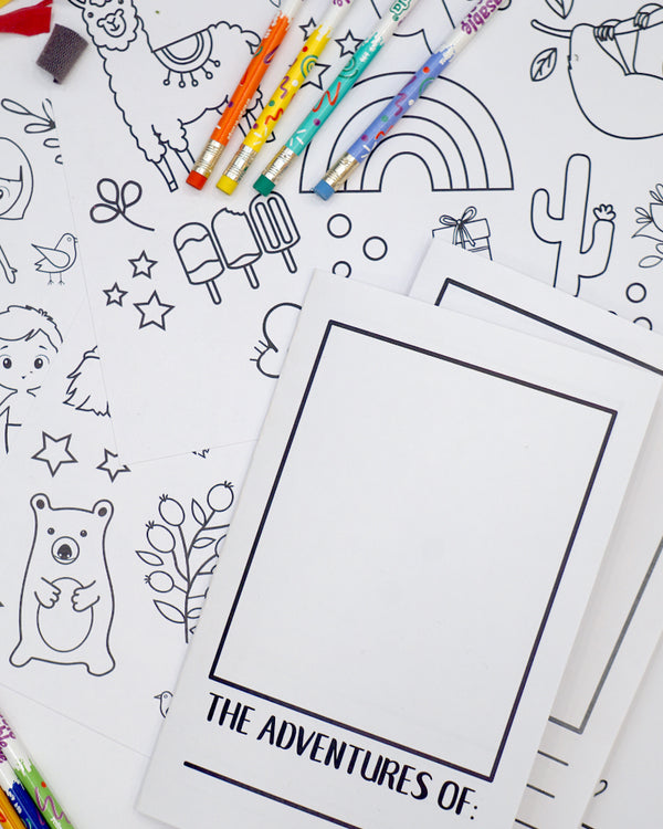 ART KIT - Create Your Own Story Book!