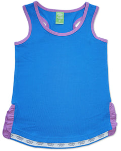 Suns Out Tank - Bluebell
