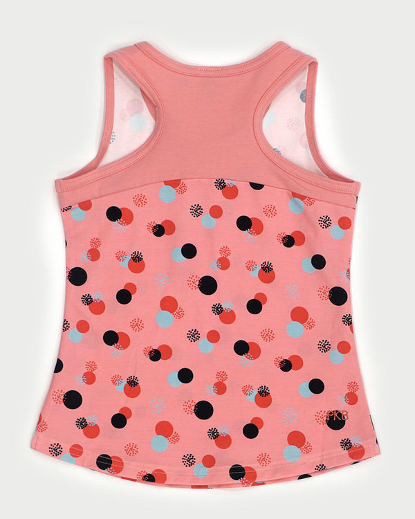 Tides Out Tank - Cotton Candy Dots