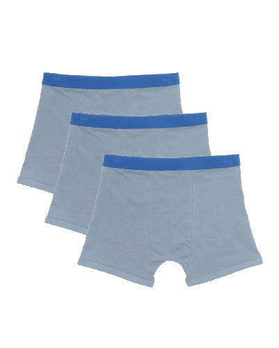 Underbeans Brief - 3 Pack Silver Blue