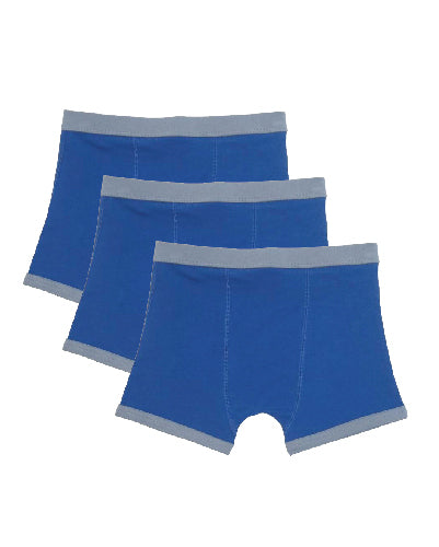 Underbeans Brief - 3 Pack Monarch Blue