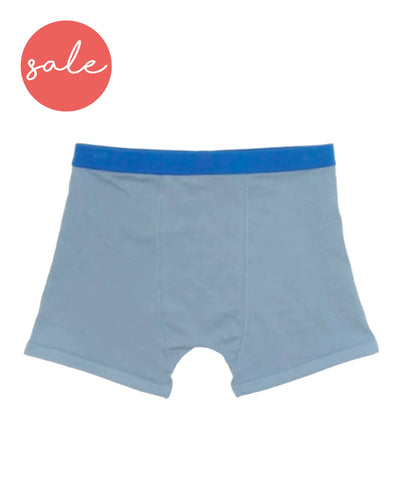 Underbeans Brief - Silver Blue